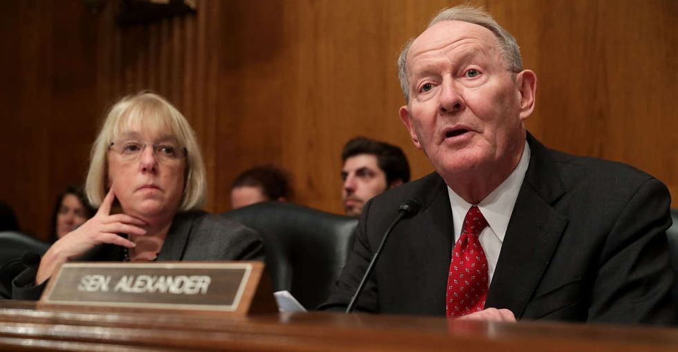 While you weren't looking, the Senate started trying to fix Obamacare for the first time.