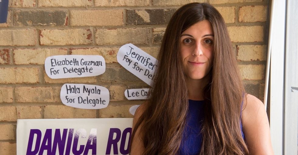 Trans woman Danica Roem beat her anti-trans opponent by focusing on ... roads. Seriously.