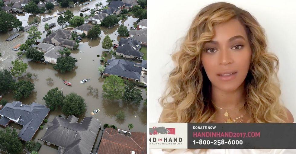 President Trump won't address climate change, so Beyoncé will