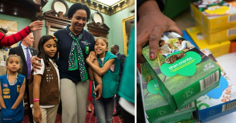 These homeless Girl Scouts wanted to sell 6,000 cookie boxes. They sold more than 32,000.