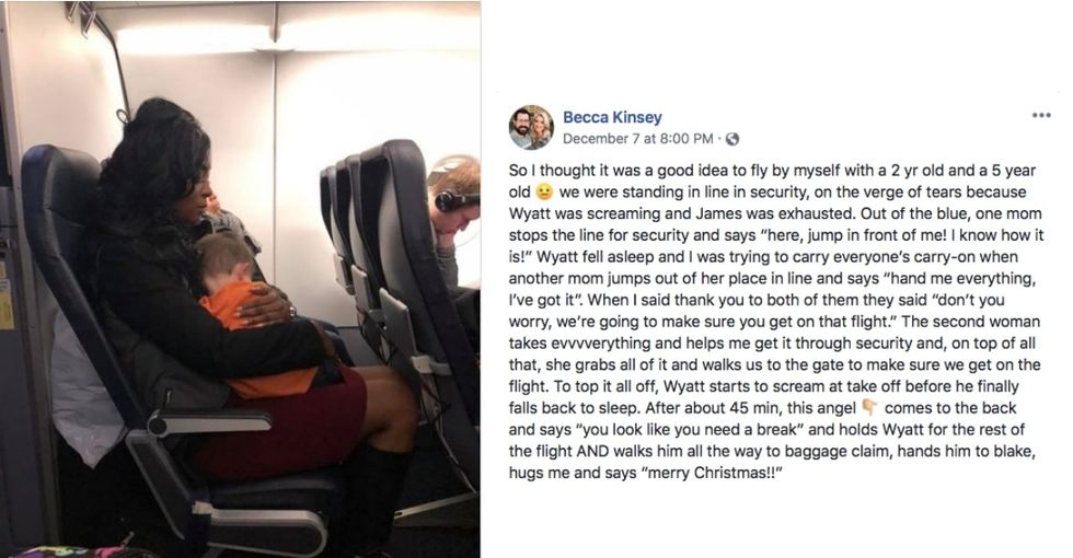 This mom's viral story of strangers' kindness illustrates how it truly 'takes a village.'