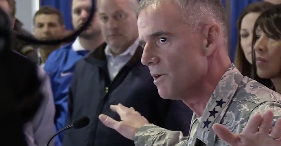 This lieutenant general's incredible speech against racism is a must-watch.