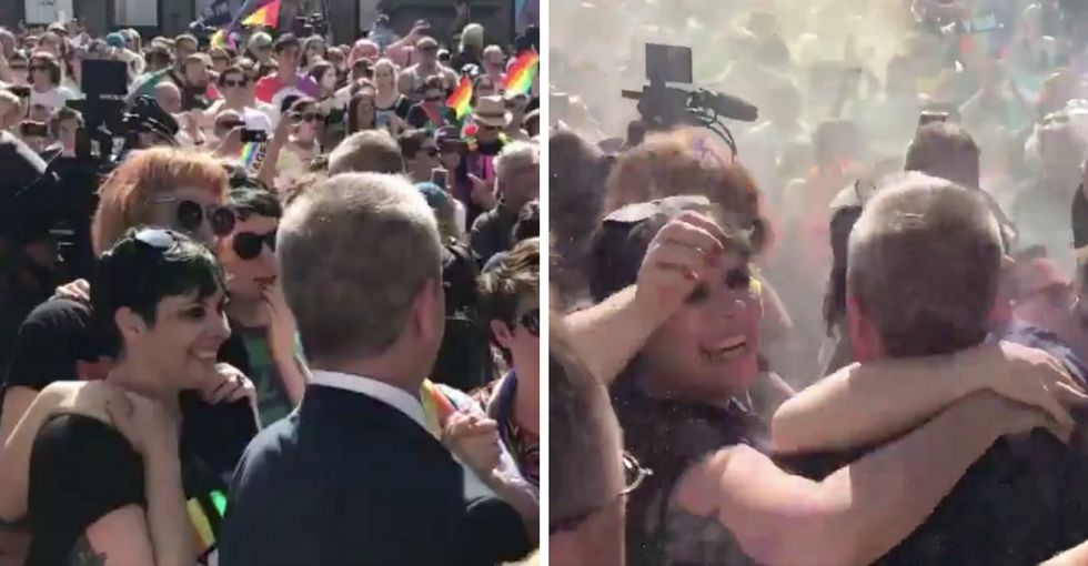 15 glorious photos that capture the moment Australia chose marriage equality.