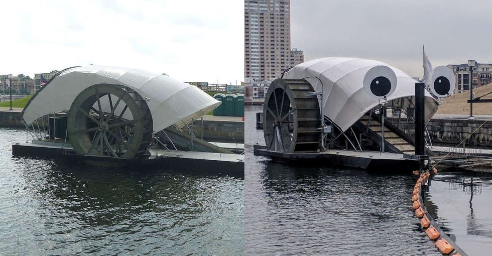2 googly eyes and a dream: How Mr. Trash Wheel went viral and conquered Baltimore.