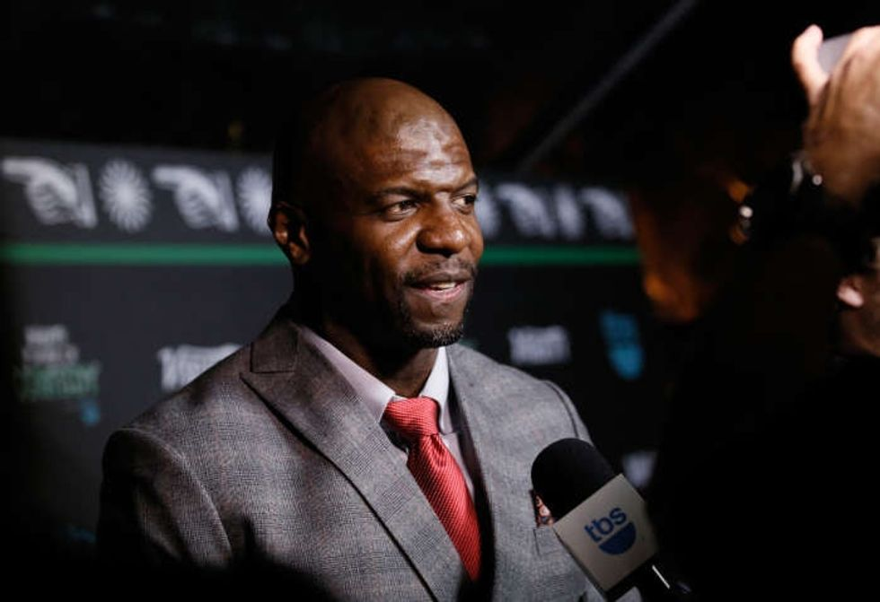 Terry Crews described being sexually assaulted in Hollywood in an emotional Twitter plea.