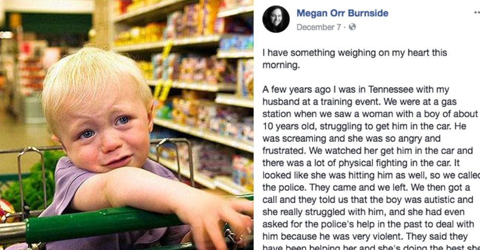 She once called the cops on a fellow parent. Here's why she wishes she hadn't.