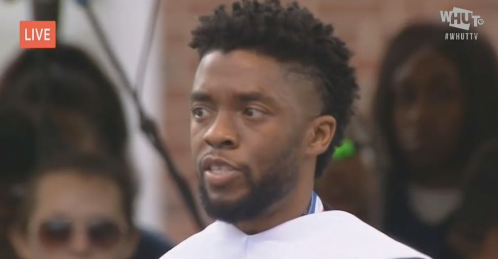 The time Chadwick Boseman returned to his alma mater to give an unforgettable speech.