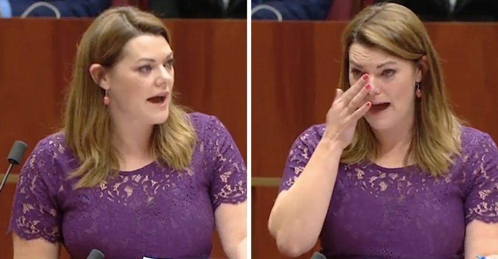 This Australian senator's tearful plea for marriage equality is a must-watch.