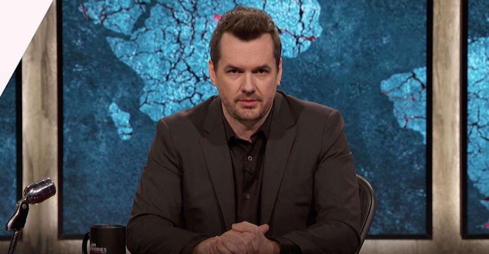 Post-Weinstein, Jim Jefferies calls out himself for past sexist jokes and behavior.
