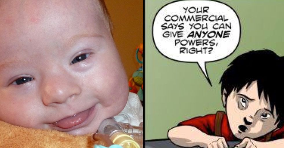 There were no superheroes with Down syndrome. So this dad invented one.