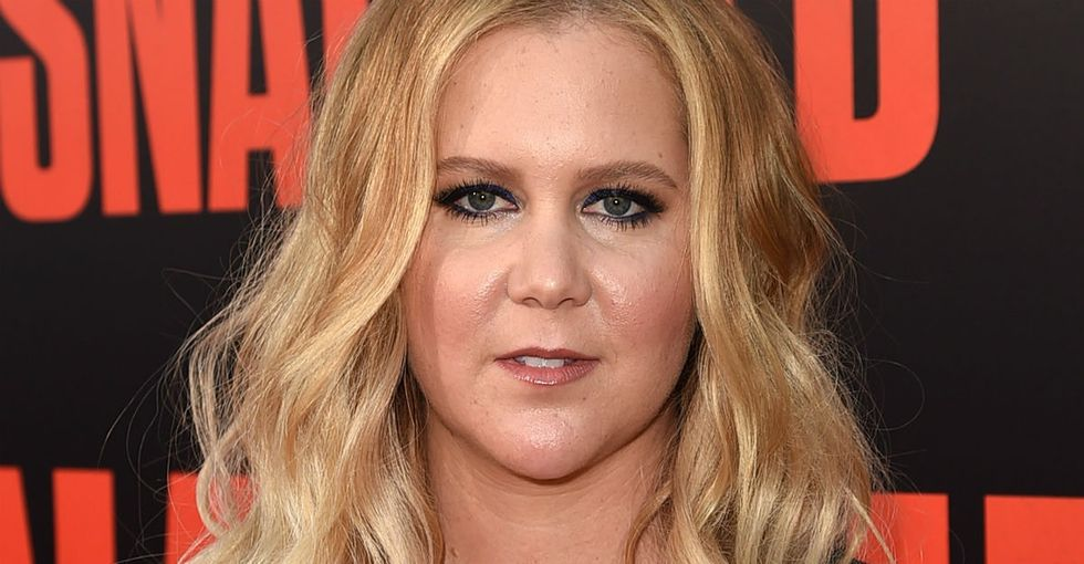 It looks like Amy Schumer is done with Sinclair Broadcasting.