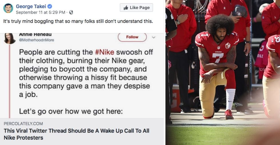 My anthem kneeling Twitter thread went viral. Here's what it taught me about humanity.