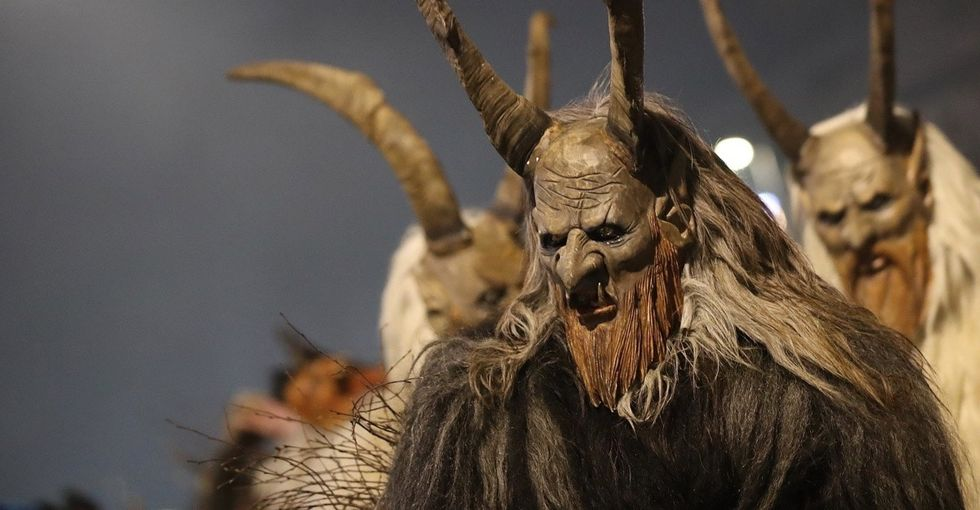 10 fricking awesome photos from a gigantic Krampus parade. Happy holidays!