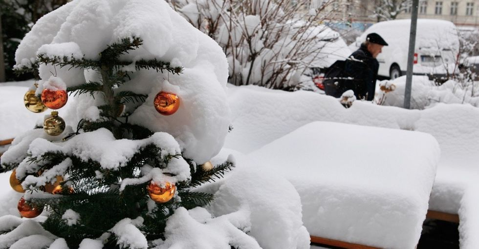 This official map pinpoints which cities will probably get a white Christmas.