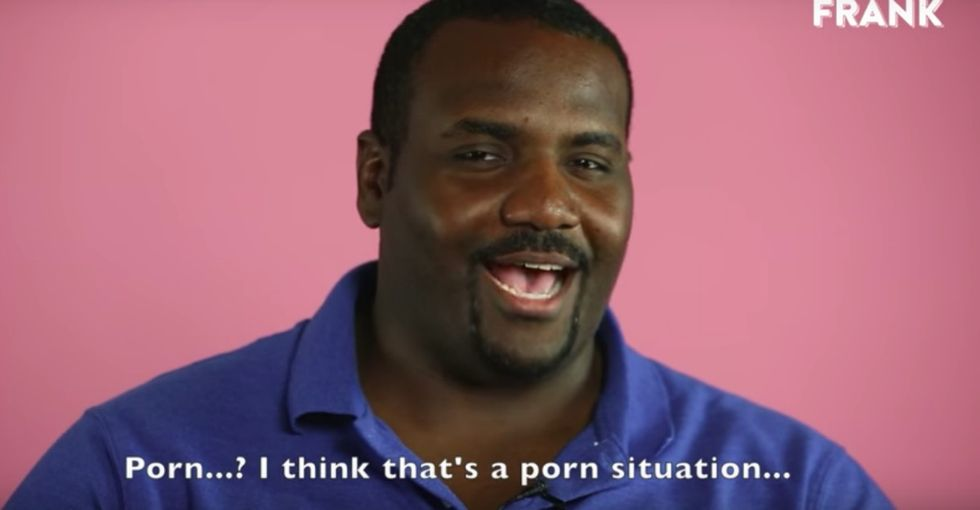 A porn scene or a #MeToo story? These guys' answers say a lot.