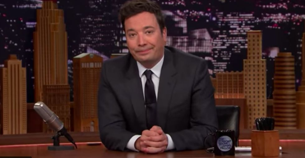 Watch Jimmy Fallon's emotional tribute to his mom after her death.