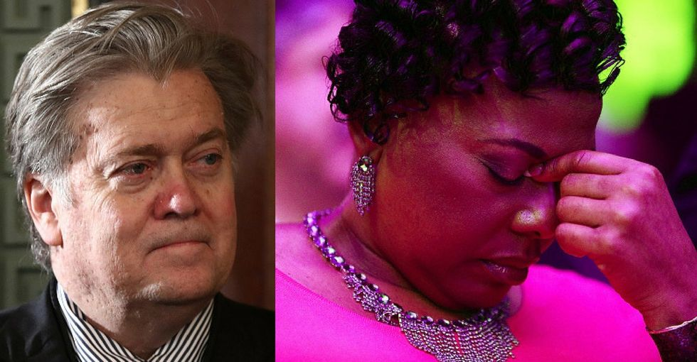 Steve Bannon claimed MLK would be proud of Trump. King's daughter shut him down.