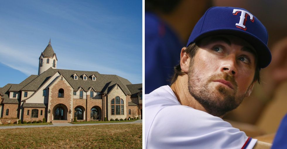 Look at the breathtaking mansion this MLB star just donated to charity.