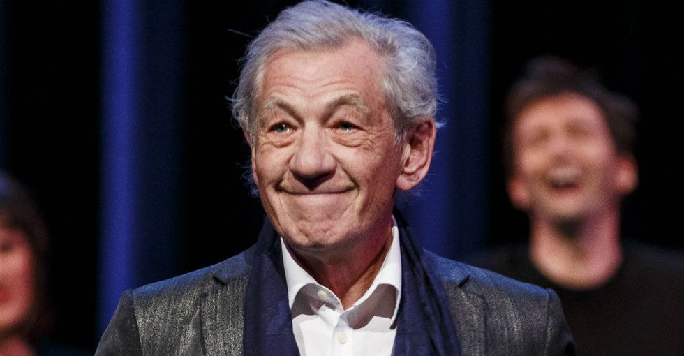 Ian McKellen got real candid about Hollywood sticking up for straight, white men.