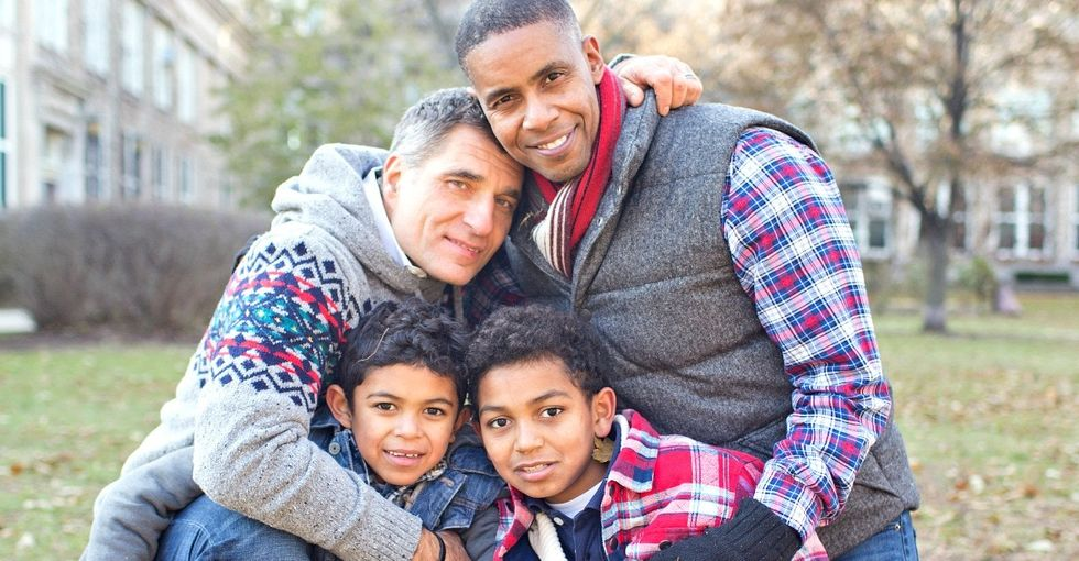 They wanted to be perfect parents. Their sons helped them realize there's no such thing.