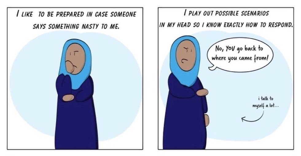 6 eye-opening, hilarious comics about life as a Muslim woman in Texas.