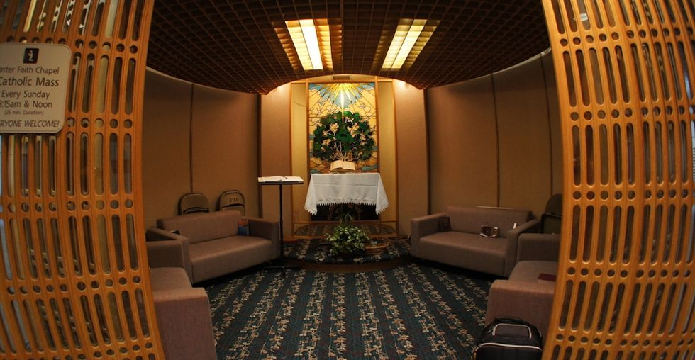 Many airports in America have their own chapels. One question: Why?