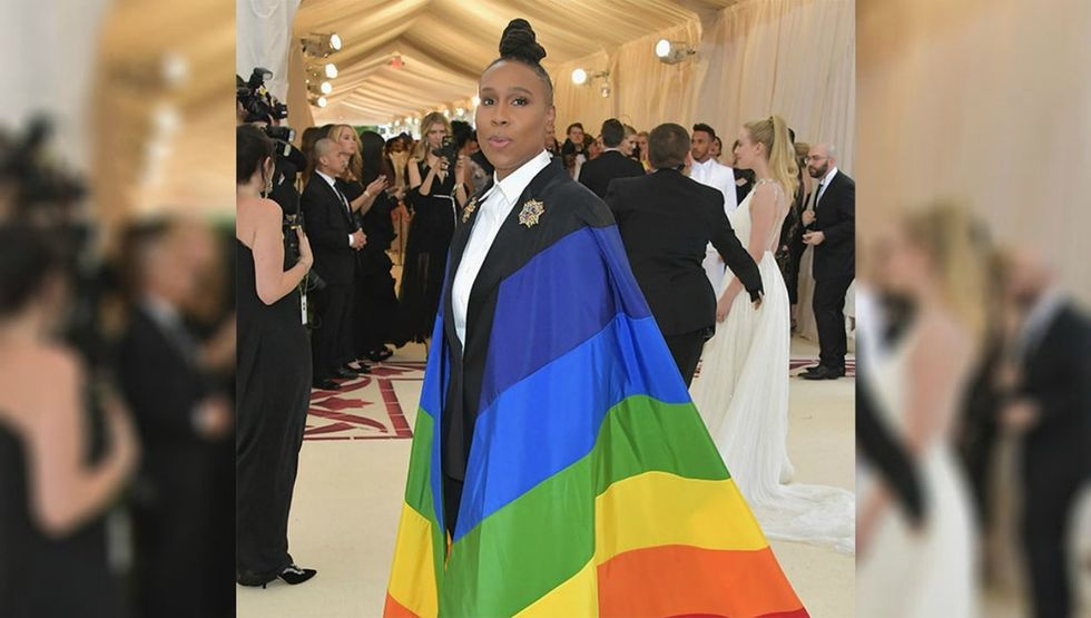 Lena Waithe in a queer cape at the Met Gala is the superhero the world needs.