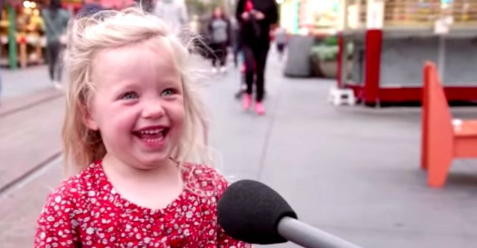 Kids were asked about Trump's first year in office. Hilarious, brutal honesty ensued.