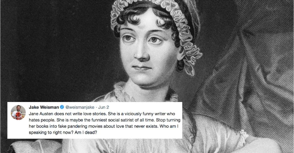 A comedy writer tweeted about Jane Austen. It revealed a big flaw in publishing.