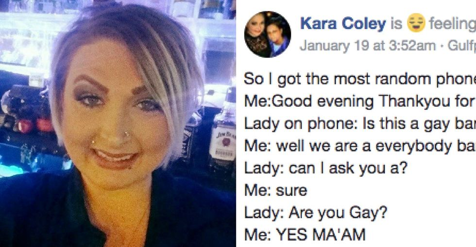 Her son came out. She called a gay bar for advice. The delightful convo went viral.