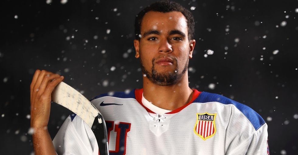 This U.S. men's hockey star is set to make Olympic history.