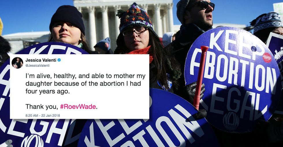 17 tweets to shine a light on the importance of Roe v. Wade, 45 years later.