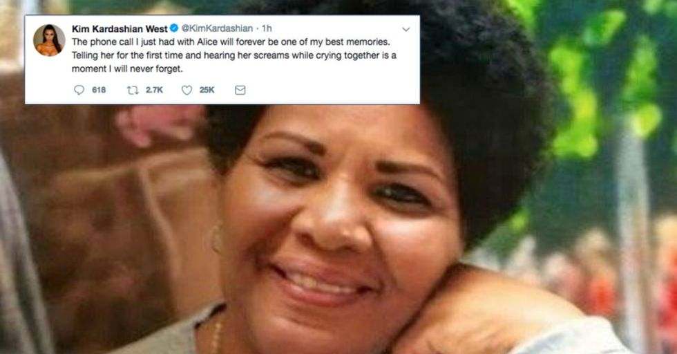 Trump commuted Alice Johnson's sentence after meeting with Kim Kardashian.