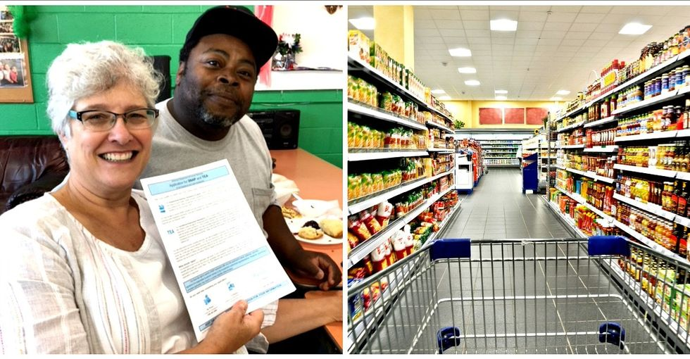 Why this man went from food stamp ineligible to one of their biggest supporters.