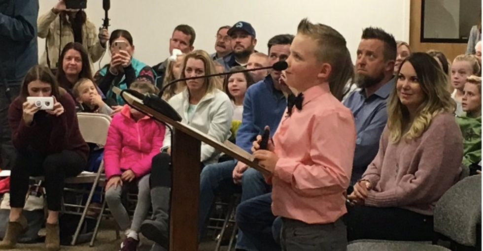 This 9-yr-old who got a law banning snowball fights dropped is a real American hero.