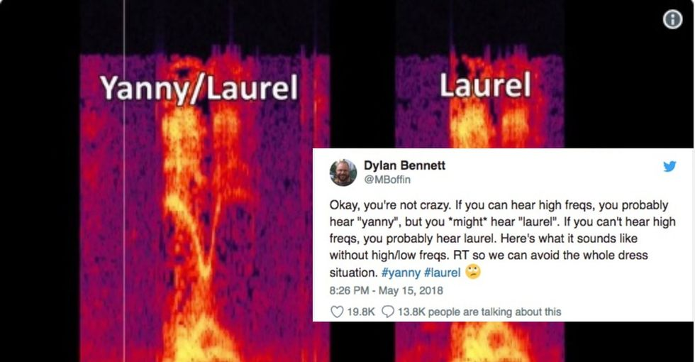 The 'Laurel' or 'Yanny' debate is actually more insightful than you think.