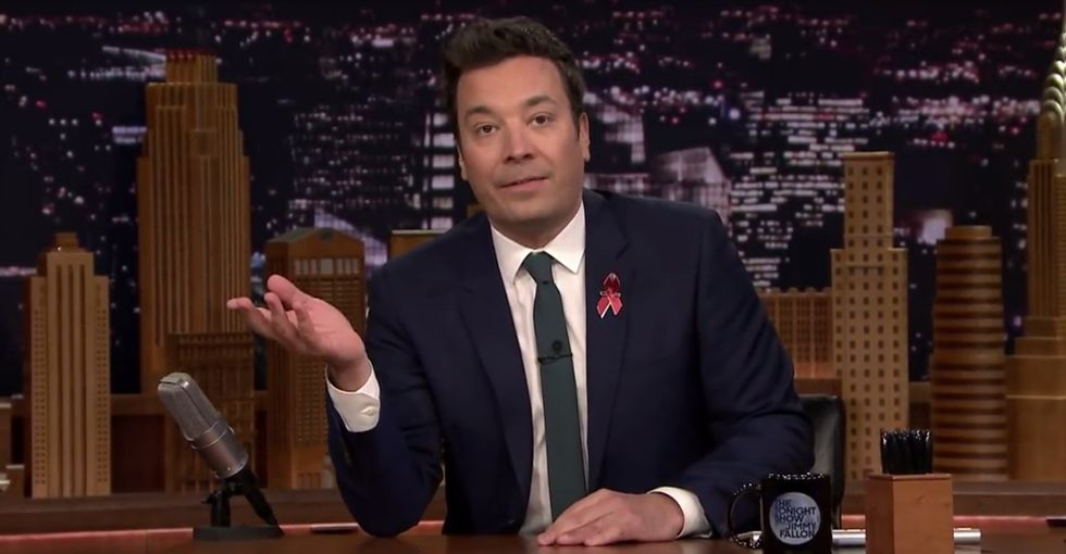 It's official: Jimmy Fallon will be at the March for Our Lives.