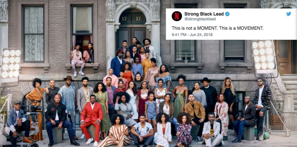 This photo of 47 #StrongBlackLeads has gone viral. It's a new day in Hollywood.