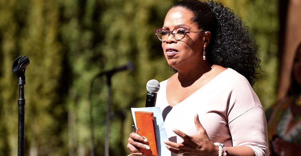 Oprah is tirelessly working to get people to pay attention to this life-changing issue.