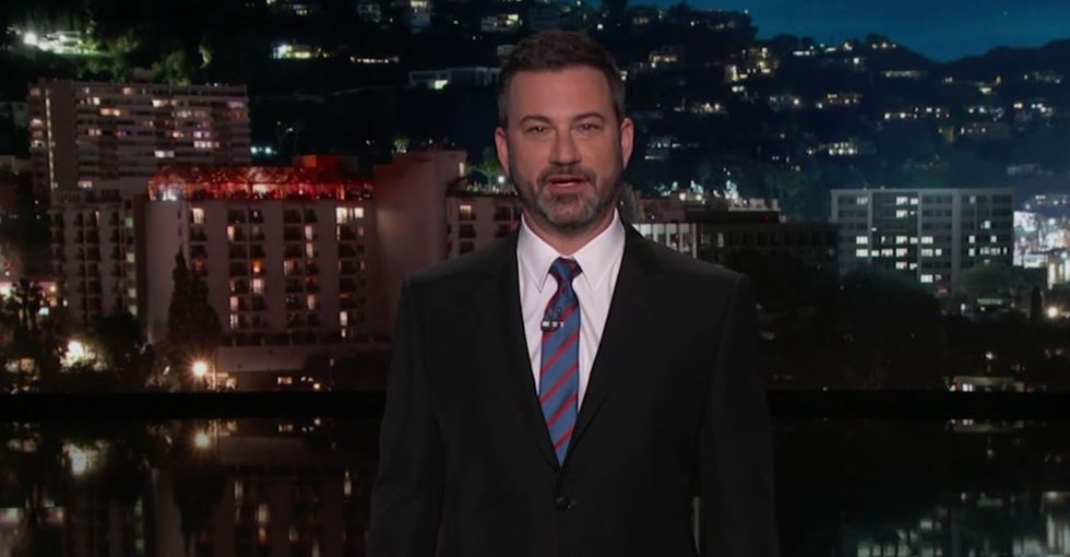 Jimmy Kimmel destroyed Trump's plan for abstinence-only sex ed with an amazing pamphlet.