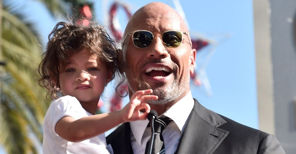 The Rock's child was rushed to the ER. His gracious post says a lot.