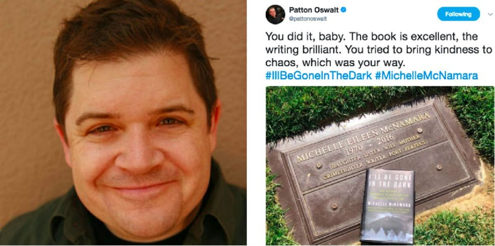 Patton Oswalt shares a moving tribute on the day his late wife's new book is published.
