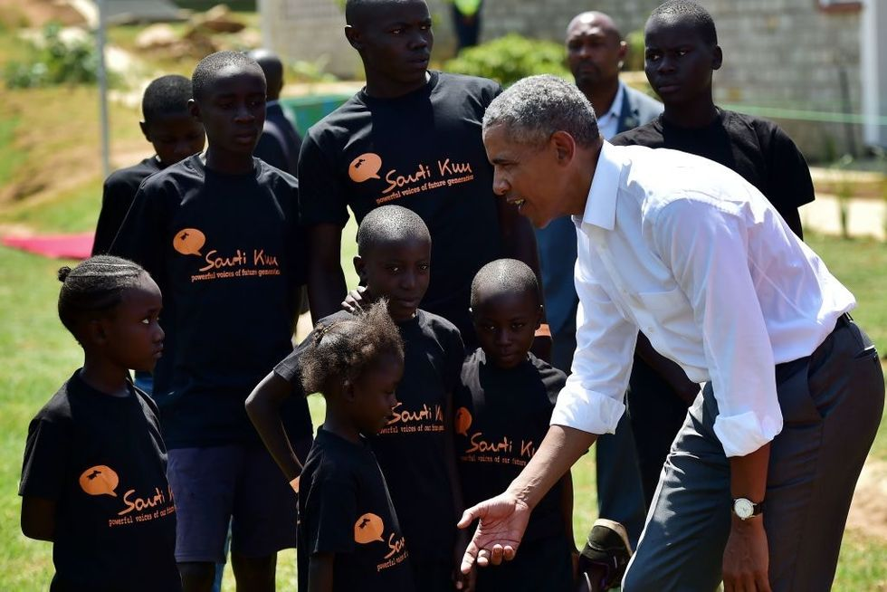 Obama's emotional trip to Kenya is quiet diplomacy in action.