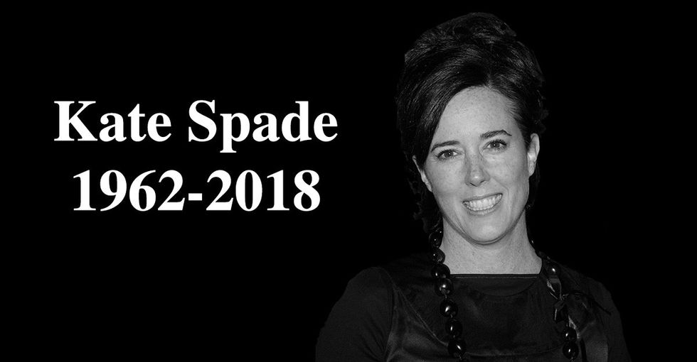 After Kate Spade's death, let's rethink how we talk about suicide.