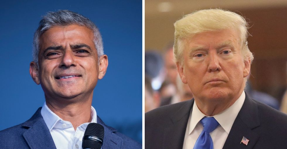 London's mayor was asked where he'd take Trump in his city. His answer nails it.