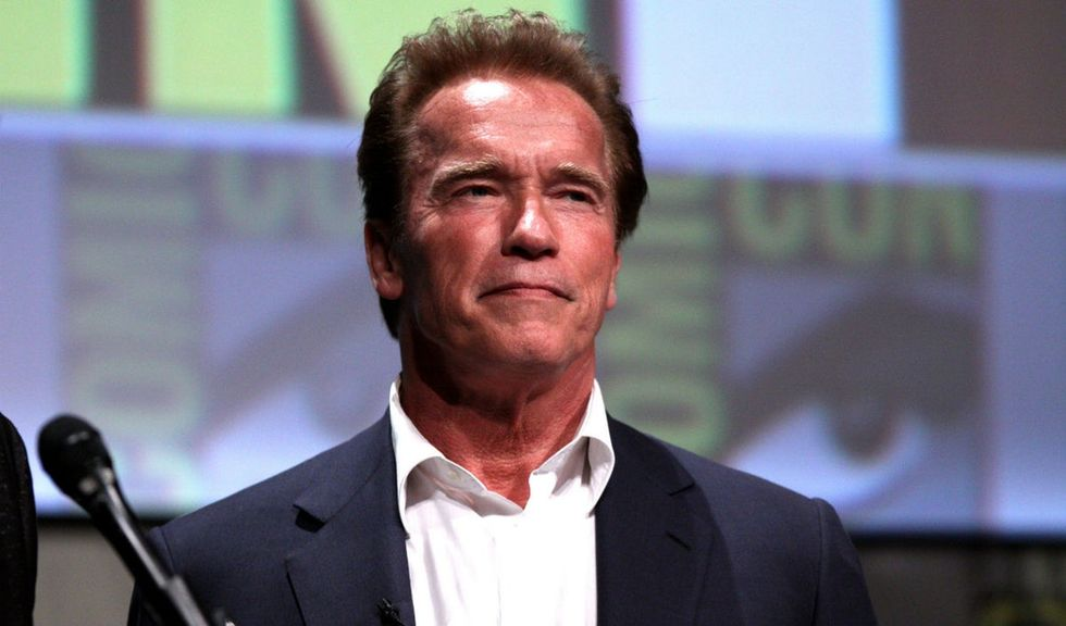 Arnold Schwarzenegger is taking the oil companies to court with a brilliant lawsuit.