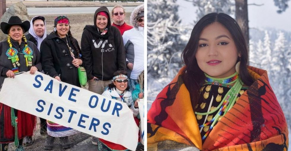 Native women are going missing at epic rates. A 19-year-old wants you to know why.