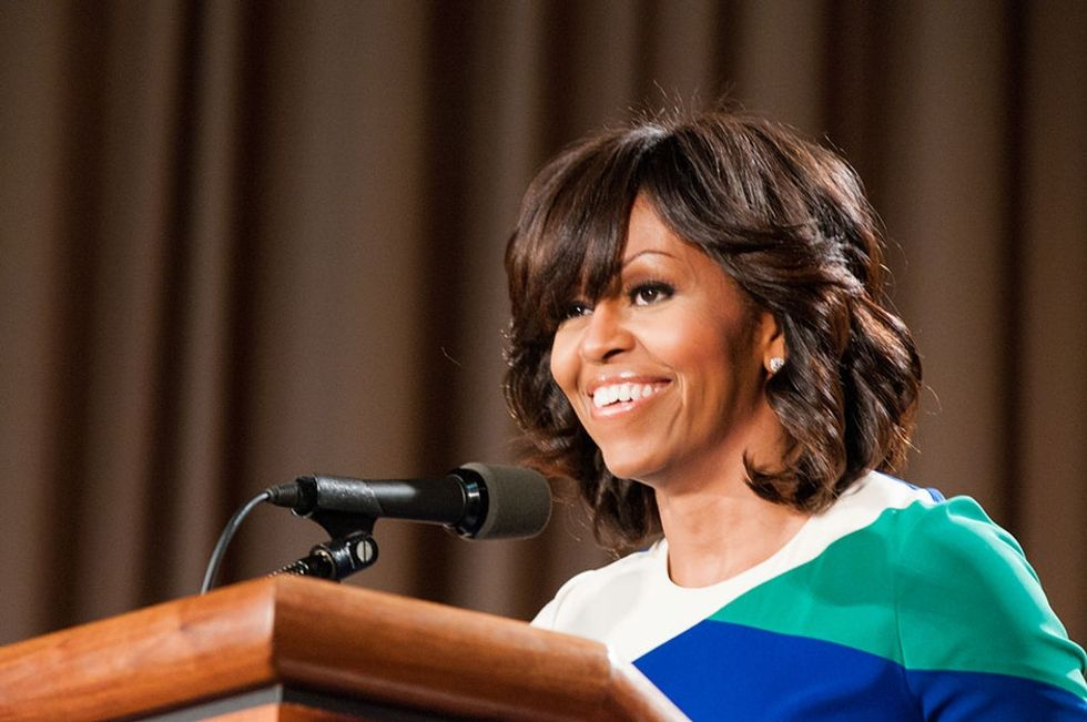 Michelle Obama used a delicious parenting analogy to explain Trump's presidency.