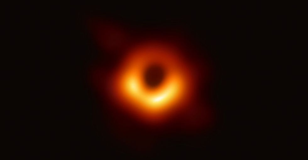 Scientists have captured the first image of a black hole, and the size and scope of it alone will blow your mind.