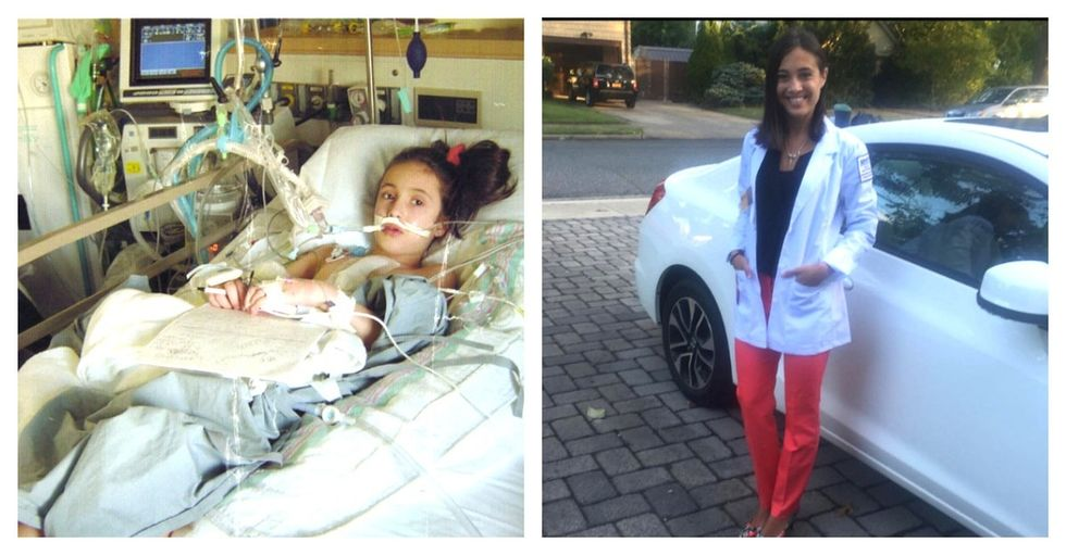 She had heart failure at 10 years old. Here's why that's just the start of her story.